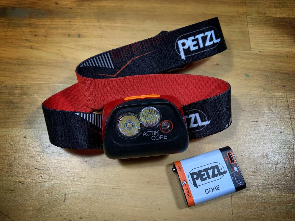 Stirnlampe Petzl Actic Core